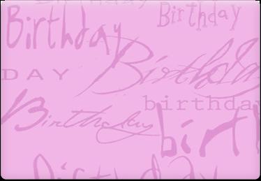 Birthday - Printable Envelope Template