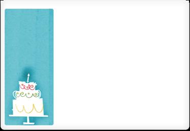 Cake - Printable Envelope Template