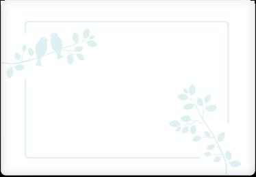 Birds - Printable Envelope Template