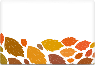 Leaves - Printable Envelope Template