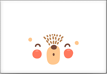 Teddy Bear - Printable Envelope Template
