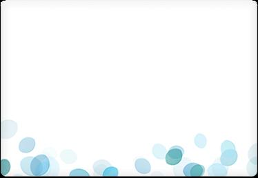 Raindrops - Printable Envelope Template