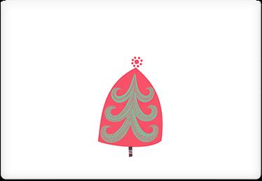 Christmas Dots - Printable Envelope Template
