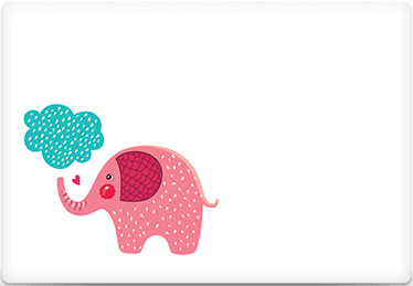 Elephant Dream - Printable Envelope Template