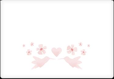 Love Birds - Printable Envelope Template
