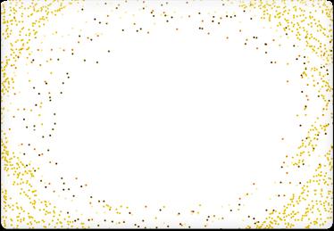 Glitter - Printable Envelope Template