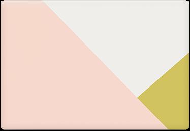 Tri Tone - Printable Envelope Template