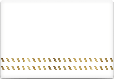 Dashed Lines - Printable Envelope Template