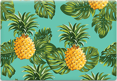 Pineapple - Printable Envelope Template