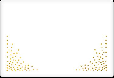 Glow Confetti - Printable Envelope Template