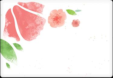 Pink Petals - Printable Envelope Template