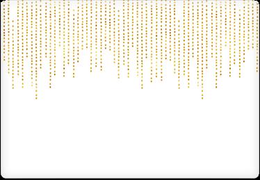 Dot Strands - Printable Envelope Template