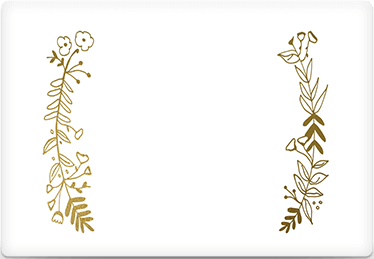 Side by Side - Printable Envelope Template