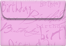 Birthday- Printable Envelope Template