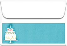 Cake- Printable Envelope Template