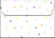 Dots- Printable Envelope Template