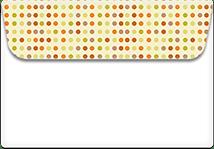 Random-dots- Printable Envelope Template