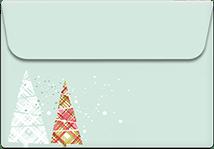 Happy-holidays- Printable Envelope Template