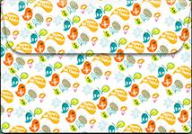 Birthday-birds- Printable Envelope Template