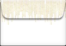 Dot Strands- Printable Envelope Template