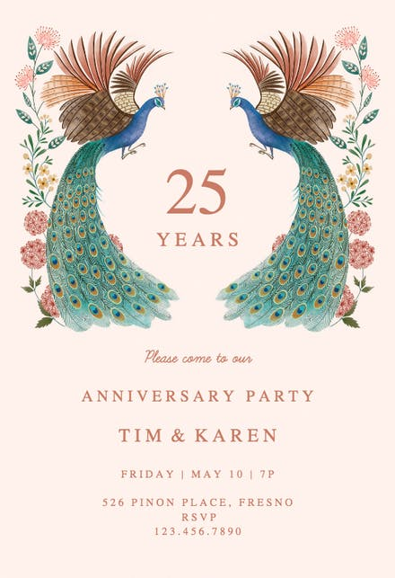 Invitaciones De Aniversario Gratis Greetings Island