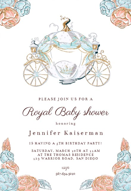 Royal Baby Shower Invitation Template from images.greetingsisland.com