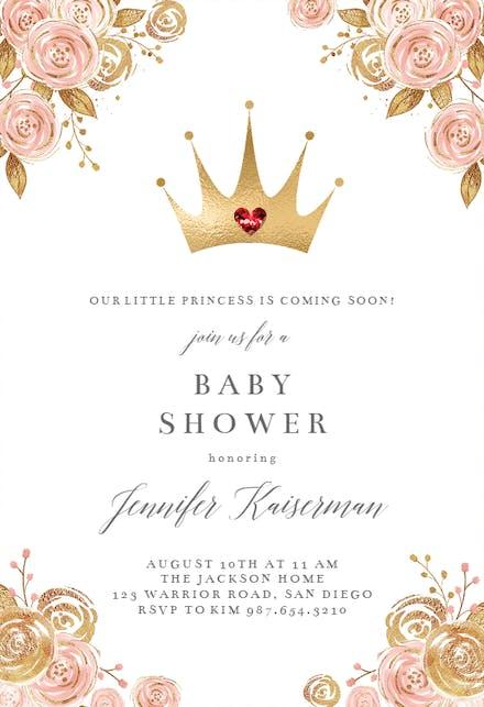 Invitaciones Para Baby Shower Gratis Greetings Island