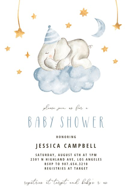 Baby Shower Invitation Templates Free