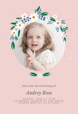 Daisy - Baptism & Christening Invitation