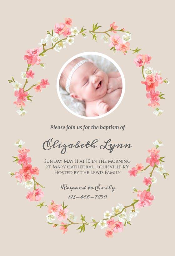 first communion Christening  Baby Dedication digital file or PRINTED CARDS Baby Boy Baptism invitation
