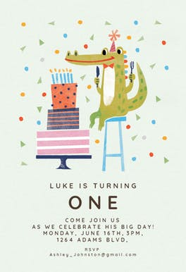 Wishful Thinking - Birthday Invitation