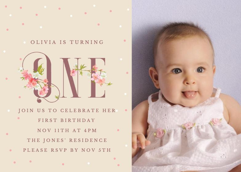 Free Baby Birthday Invitation Templates Greetings Island