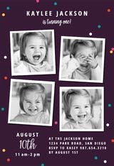 Multi Photo - Birthday Invitation