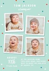 Multi Photo - Birthday Invitation