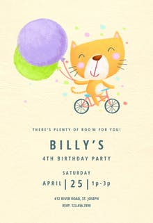 Go to Party - Birthday Invitation