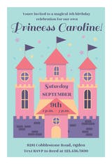 Magical Day - Birthday Invitation