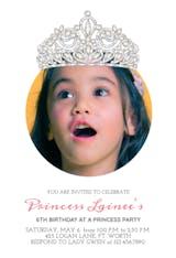 Royal Image - Invitación De Cumpleaños