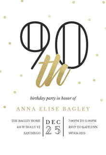 90th birthday invitation templates free greetings island golden age 90 birthday invitation filmwisefo