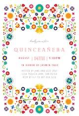 Quinceanera fiesta - Quinceañera Invitation
