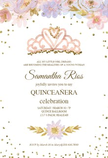 Coming True - Birthday Invitation
