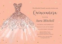 Dream Dress - Invitación de Cumpleaños