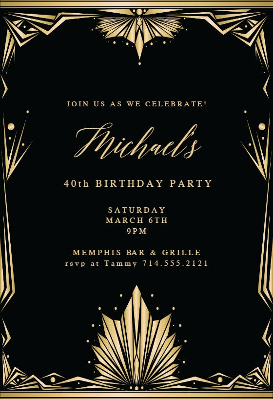 Party Invitation Templates (Free) Greetings Island