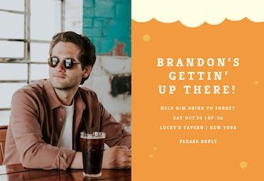 Beer Me - Birthday Invitation