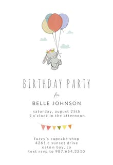 baby birthday invitation templates free greetings island. Black Bedroom Furniture Sets. Home Design Ideas
