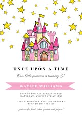 Castle Doodle - Birthday Invitation