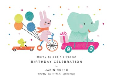 Dot 2 Dot - Birthday Invitation
