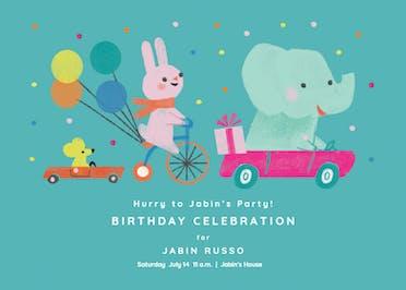 Dot 2 Dot - Birthday Invitation