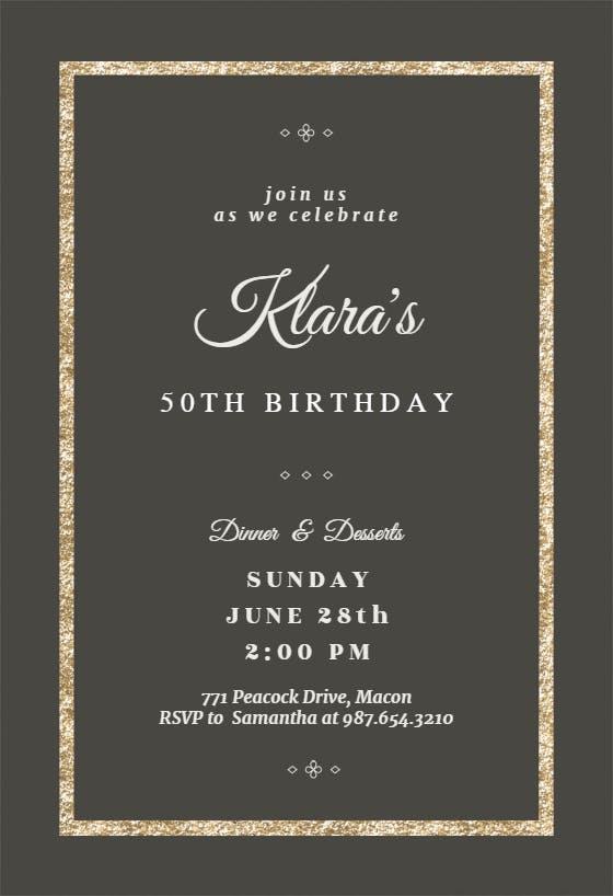 Birthday Invitation Templates Free Greetings Island