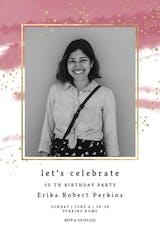 Fresh & Fancy - Invitación De Cumpleaños