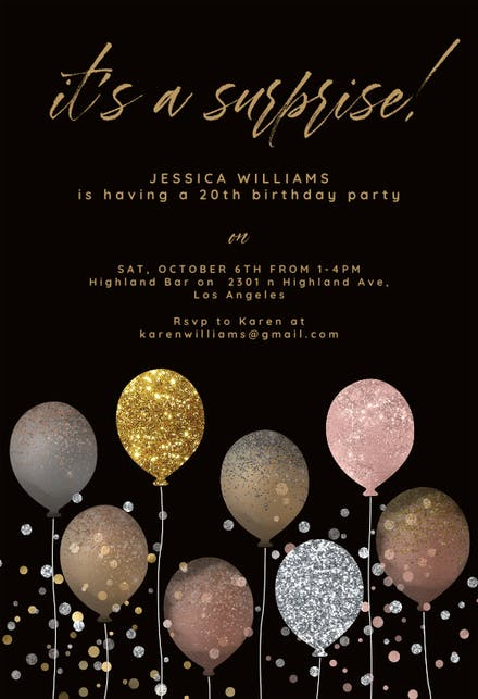 Birthday Invitation Templates (Free) | Greetings Island